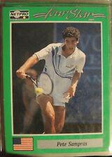 1991 TENNIS CARDS NetPro Set ROOKIE Agassi SAMPRAS Navratilova McENROE Sealed