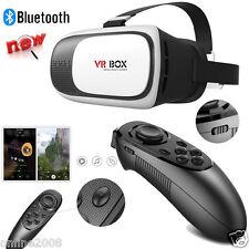 Bluetooth VR Realidad Virtual Gafas 3D juegos Caja de control remoto para smartphone