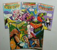 Tales of the Unexpected 101 to 105 (1967 FN/VF) Run of 5 DC Comics! ~StoryTeller