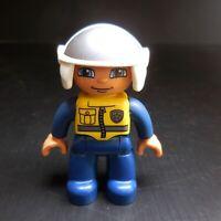 Figurine personnage police design PLAYMOBIL jouet enfant vintage N6159