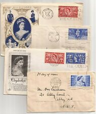 U.K.- 53- Fd Covers-All Different, Some Inserts?Many To Leeds?