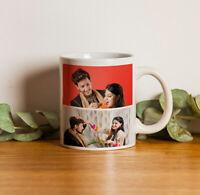 Anniversary Birthday Wedding Couple Lover Personalized Gift Coffee Mug Tea Cup