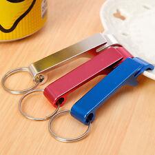 3 Pcs Bottle Opener Key Ring Chain Keyring Keychain Metal Beer Bar Tool Claw JUK