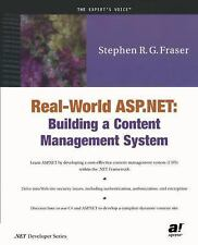 Real World Asp. Net : Building a Content Management System by Stephen R. G....