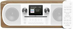 Pure Evoke C-F6 Music Centre CD Internet DAB DAB+ FM Bluetooth Headphone 20W RMS