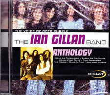 IAN GILLAN BAND anthology CD NEU