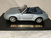 Maisto Special Ed 1:18 Porsche 911 Carrera Cabri 1994 Die Cast Model Car w/ Box