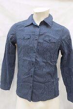 CECIL Bluse  Hemdbluse  Größe 38 Schwarz Lila Streifen  Baumwolle