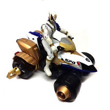 """Mighty Morphin POWER RANGERS SPD Space Police QUAD BIKE & 5"""" action figure toy"""