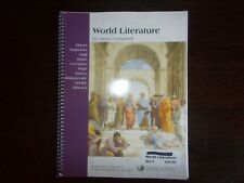 World Literature Excellence in Literature by Janice Campbell Spiral Bound