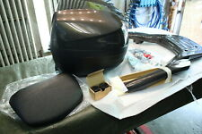 CP ) Piaggio X10 Topcase Kit + Support 67613900M8 Braun 120A Bagage Portant