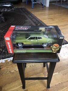 1970 Ford Torino GT Hardtop Medium Ivy Class of 1970 1/18 Diecast Car Autoworld