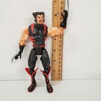 Toy Biz 2006 Marvel WOLVERINE Logan Action Figure MUTANT RACER Red Black Uniform