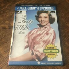 THE BETTY WHITE SHOW VOL 1 DVD - 4 EPISODES comedy TV CLASSIC must have HUMOR