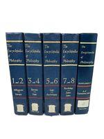 The Encyclopedia of Philosophy 4 Volume Set Collier Macmillan 1972 Reprint
