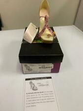 Just The Right Shoe, Pink Ribbon Miracle Item #25599 COA w/box