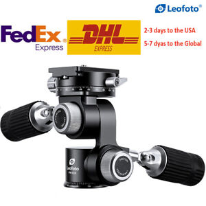 Leofoto FW-01R 4-way Panoramic Head For tripod Camera QR Plate for Arca Swiss