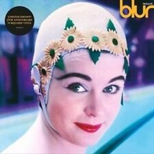 Blur Leisure LP Vinyl 12 Track Limited Edition 25th Anniversary Turquoise
