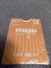 Vintage Lane Bryant Knee Hi Outsize Sheer Sandlefoot Beige Size 11 1/2 - 13 Xxl