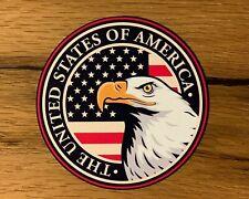 USA Aufkleber Amerika Sticker Oldtimer Auto Hotrod V8 Tuning Ratte Eagle #921