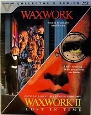 Waxwork 1 & 2 Ii Double Feature Blu-ray 2-Disc Set w/ Slipcover Cult Horror