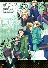 Hetalia Axis Powers Doujinshi Denmark Norway Sweden Finland Turkey Iceland Be My