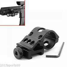 """Scope 1"""" 25.4mm Offset Ring 45 Degree Side Picatinny Rail Mount for Rifle/Laser"""