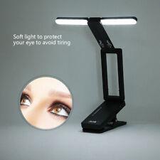 LED Faltbar Notenpultleuchte Aufladbar Notenständer Licht USB Lampe Leseleuchte