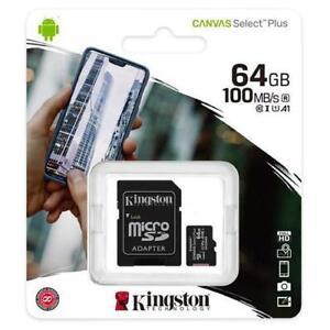 64GB Micro SD Speicherkarte Für Vodafone Smart Tab N8 Tablett