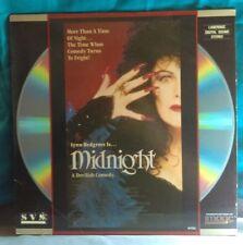 Midnight, 1989, Lynn Redgrave, Tony Curtis, Laserdisc, Rare!
