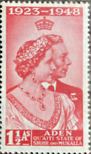 1949 Aden-Quaiti State Of Shihr and Mukalla Stamp Sn 14 Mh