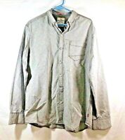 Men's TOMMY BAHAMA JEANS Modern Fit Sport Shirt Gray Diamond Stitched Size L