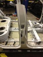 BMW E53 X5 Passenger Side Door B Pillar Cut Frame Rail Support IMPACT SECTION OE