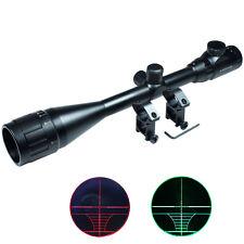 6-24x50 AOEG Hunting Rifle Scope Red Green Dual illuminated Optical Gun Scope