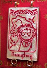 Disney Pin Santa Mickey's Naughty & Nice List Jack Skellington