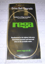 Rega White upgrade turntable drive belt (genuine) & cleaning wipe. DECO