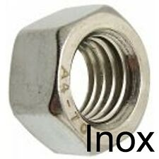 ECROU HEXAGONAL H HU - INOX A2 - M2 (35)