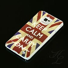 Samsung GALAXY s2 i9100 HARD CASE GUSCIO PROTETTIVO ASTUCCIO motivo Keep Calm Carry On