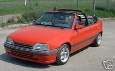 Opel Kadett Bertone Cabrio Verdeck Bezug Repairkit Reparatursatz Reparatur Set-