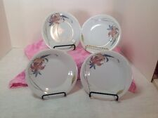"SET OF 4 ANATOLE FINE PORCELAIN CHINA JAPAN 6-3/8"" DESERT PLATES"