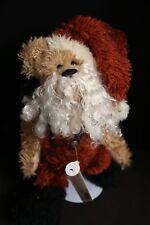 "Boyds Bears ""Father Kristmas"" Santa Claus Bear w/ Beard Plush Toy Doll NWT"