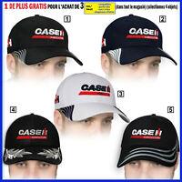 Case IH Casquette 3D Brodé Logo Tracteur Chapeau Homme Femme Agriculteur T Shirt