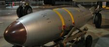 Mark 7 Thor USAF Tactical Nuclear Bomb Wood Model Replica Large Free Shipping