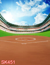 Outdoor Sports baseball 5x7 FT CP PHOTO SCENIC BACKGROUND BACKDROP SK451