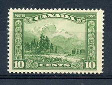 Weeda Canada 155 Jumbo VF mint NH 10c green Mount Hurd, One in a Thousand!