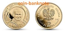 Poland Polen 2 zlote zlotys zlotych 2014 Canonisation of John Paul II 27 IV 2014