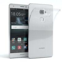 Schutz Hülle für Huawei Mate S Case Silikon Handy Cover Transparent