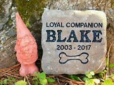 Pet Memorial Stone Personalized Cat or Dog paver stone