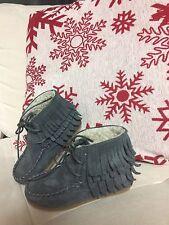 Zara Kids Girls Fringe Winter Boots