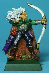 CITADEL - Wood Elves - Wood Elf Archer (a) - 1980s - Metal - Warhammer